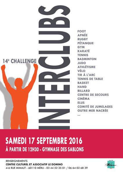 2016 challenge interclubs