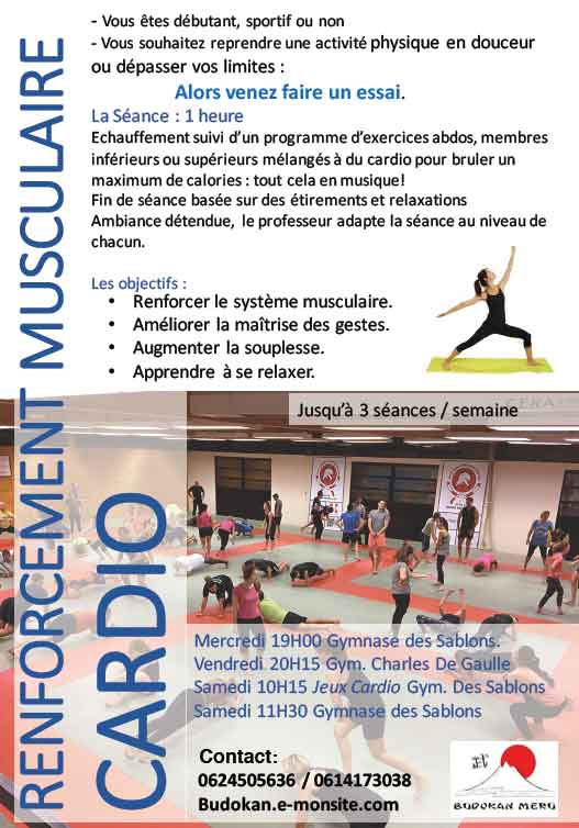 Renforcement musculaire / cardio