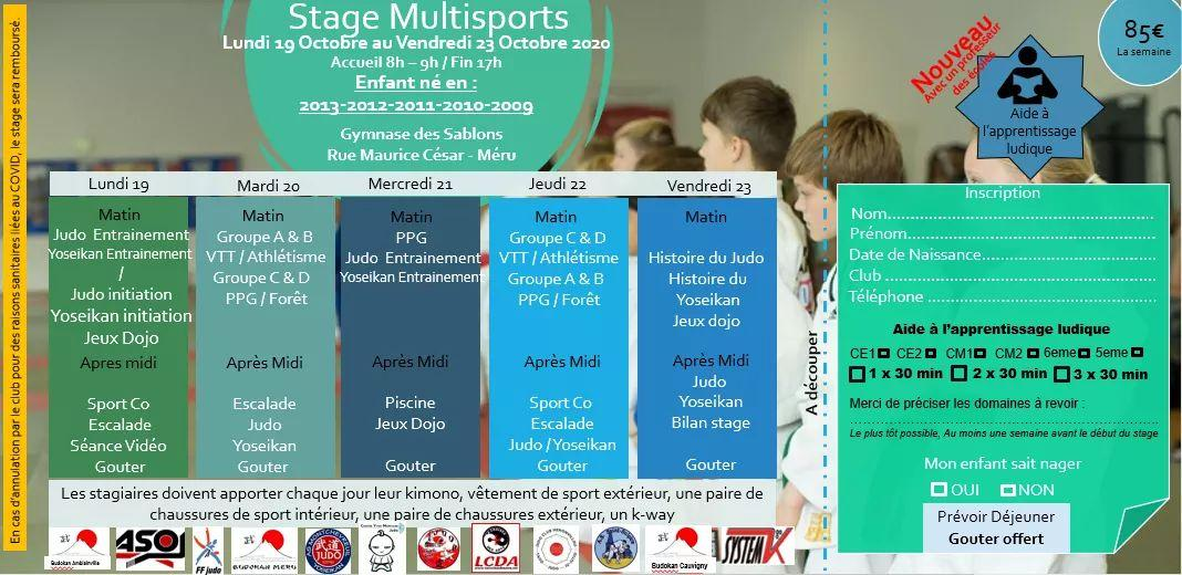 Stage multisports